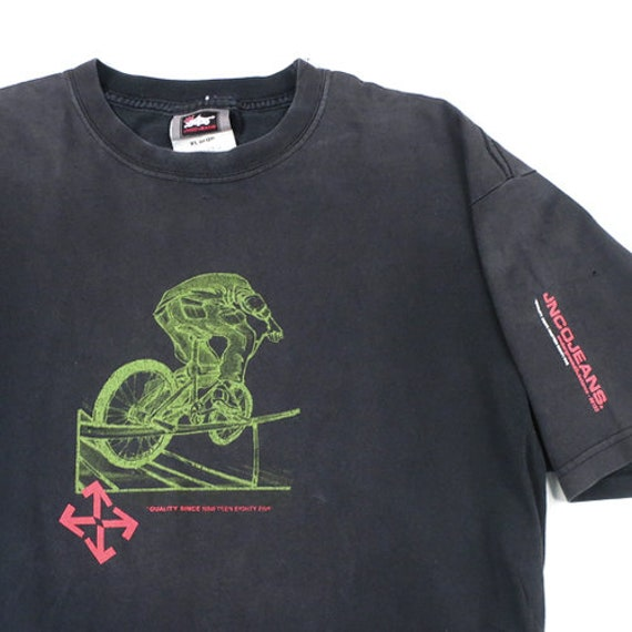 Vintage JNCO Jeans BMX T-shirt 90s Bike