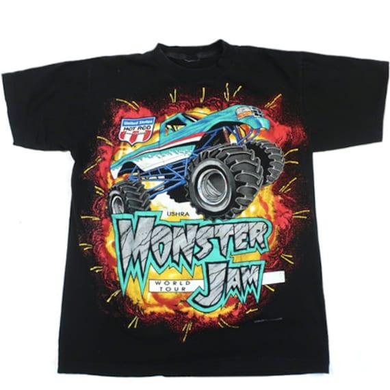 Vintage Monster Jam 1995 T-shirt Truck