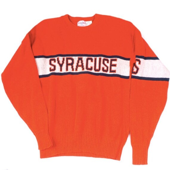 Vintage Syracuse orangemen Cliff Engle Sweater 80s