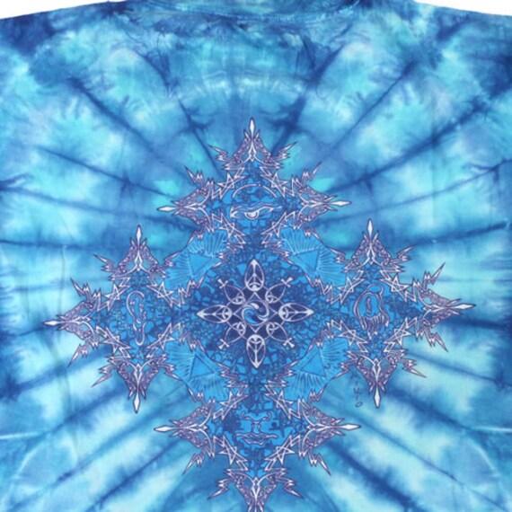 Vintage Woodstock T-shirt Tie Dye Mikio - image 3