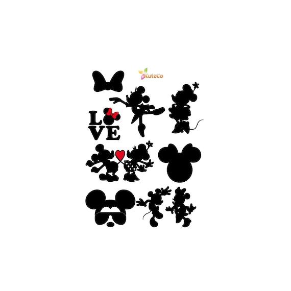 Disney Svg Mickey Mouse Svg Minnie Svg Files For Cricut Etsy