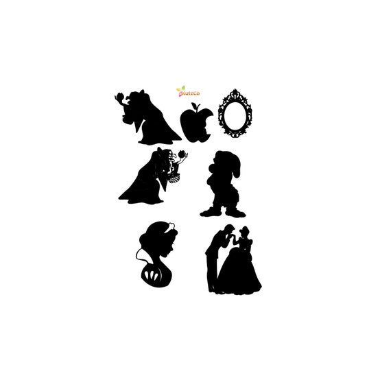 Disney Snow White Svg Disney Svg Evil Queen Apple Grumpy Etsy