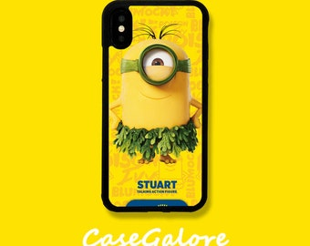 largest cover iphone 6 silicone minion