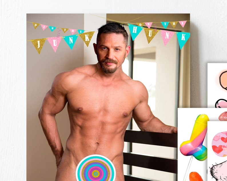 image about Pin the Junk on the Hunk Printable called Pin the Junk upon the Hunk, Bridal shower online games, pin the , bridal shower , Tom Hardy, exact same permanently, , printable, Obtain