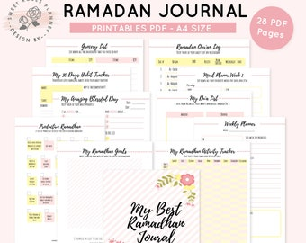 Ramadan Planner Etsy