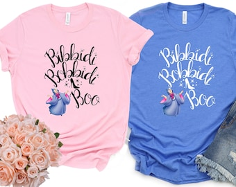 Bibbidi Bobbidi Boo Shirt, Cinderella Shirt, Fairy Godmother Shirt, Magic Wand Shirt, Halloween Shirt #365