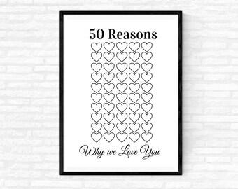 Warum dich ich liebe oma gründe 50 Du &'