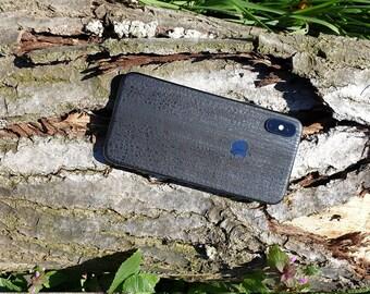 Houtskool Apple Iphone X Skin | Sticker | Wrap