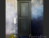 Black Vintage Gothic Cabinet