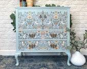 Vintage William Morris Style Cabinet