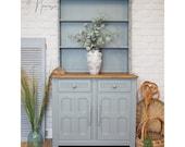 Vintage Painted Oak Dresser