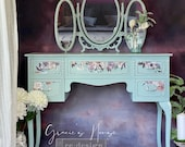 Vintage Dressing Table & Mirror