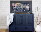 Hand Painted Blanket Box
