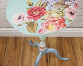 NOW SOLD - Fairground Whimsical Wine Side Table