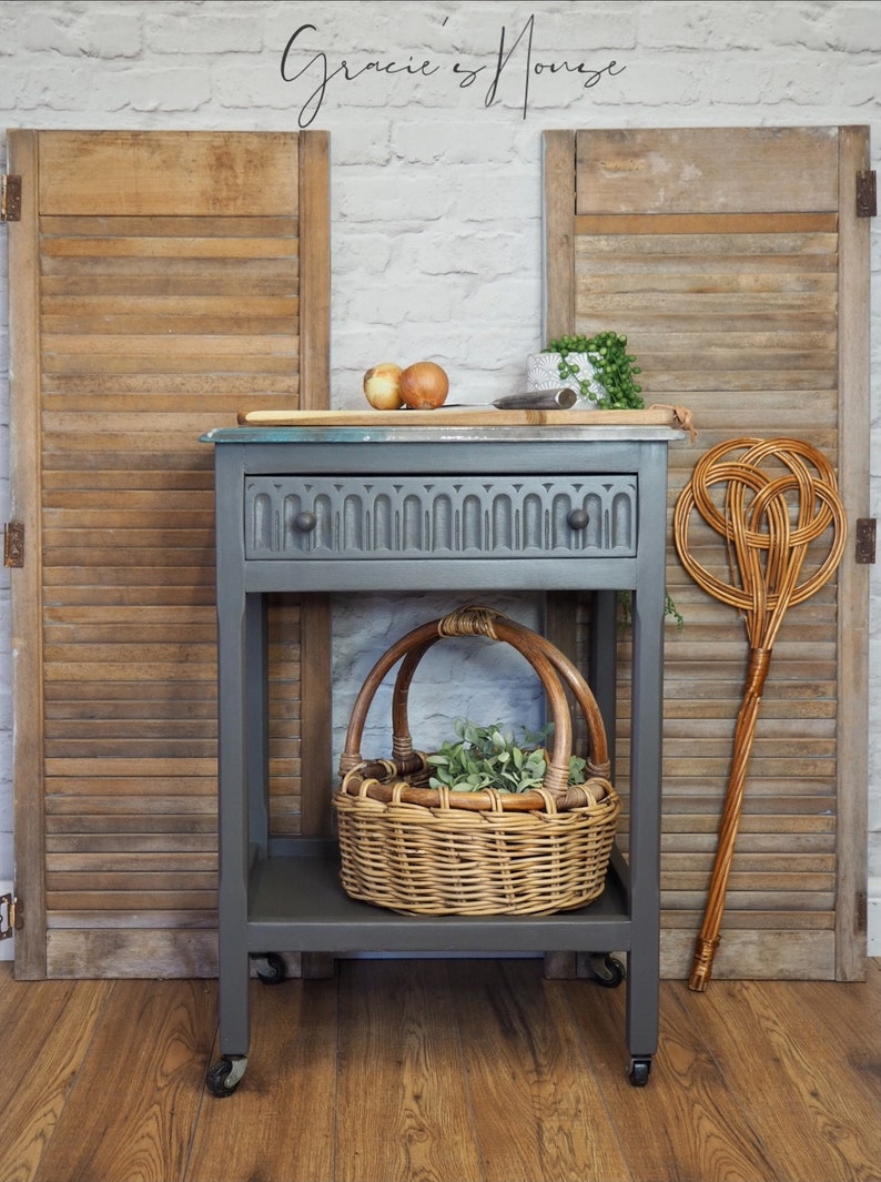 Small Mobile Kitchen Island Trolley image 0