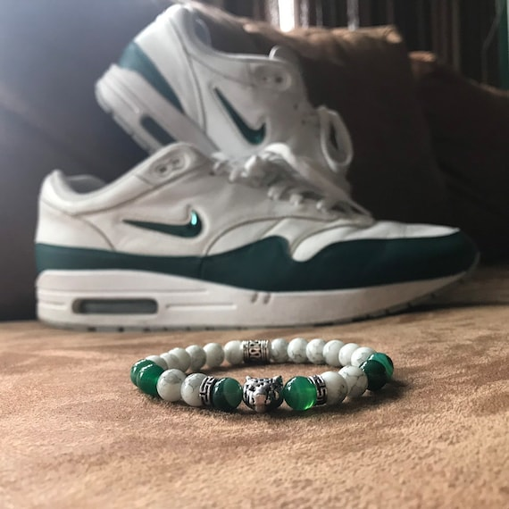 SneakerBeads Bracelet Green Jewel Air Max 1 Nike
