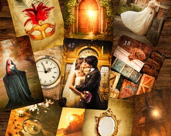 Epic Light Lenormand Add-on Cards, Oracle Cards