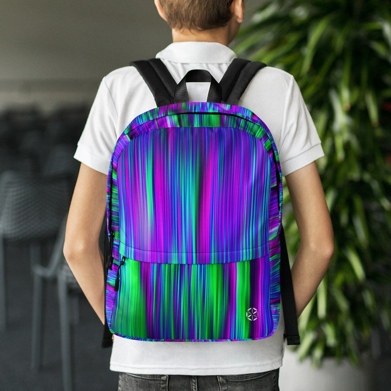 Psychedelic Laptop Backpack