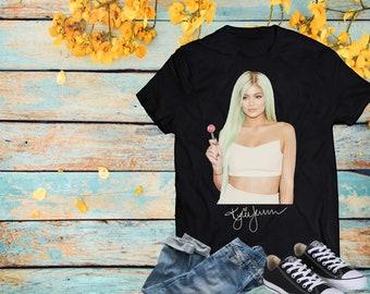 d3f87961e705 Kylie Jenner - Astroworld - Kylie Cosmetics - Kylie Lingerie - Day Shirt -  Personalized Shirt - Artist - Unisex T Shirt - Soft T Shirt -