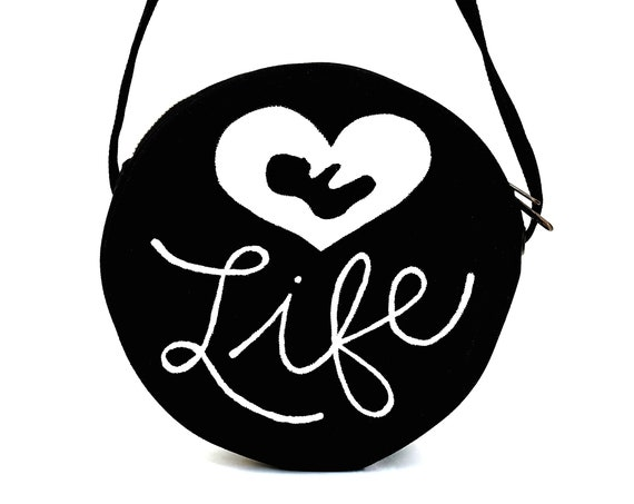 B&W Love Life Bag