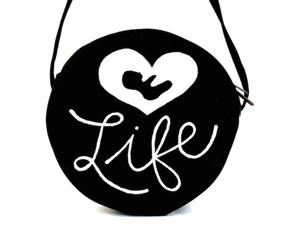 B&W Love Life Bag