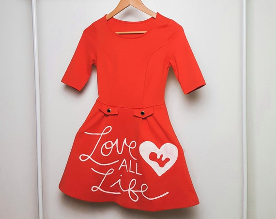 Tangerine Love All Life Dress (S)
