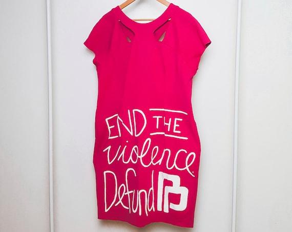 Hot Pink End Planned Parenthood Dress (2X)