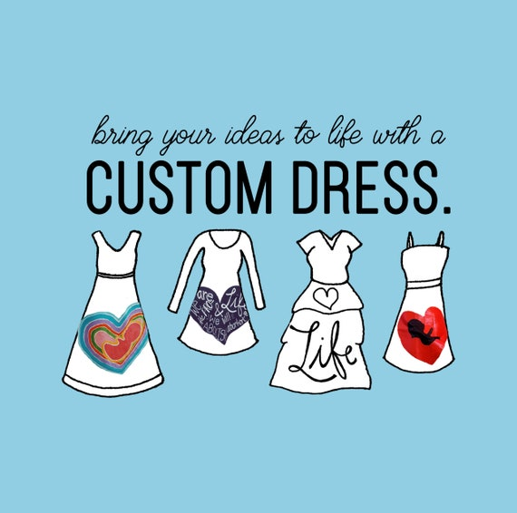 Select a Design, Send in a Dress