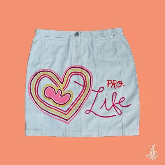 Pro-Life Off-White Skirt (M)