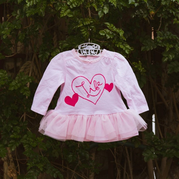 Light Pink Love Life Dress (3 m/o)
