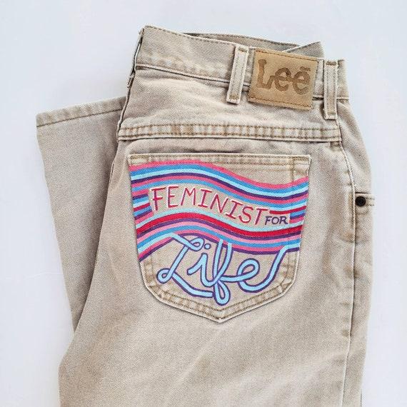 Feminist for Life Jeans (M)