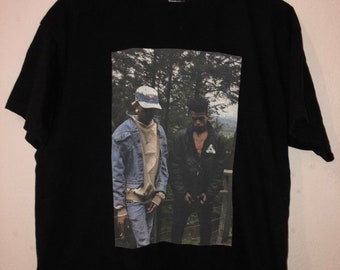 be7b750f8 XXXTentacion & Ski Mask The Slump God Graphic Tee