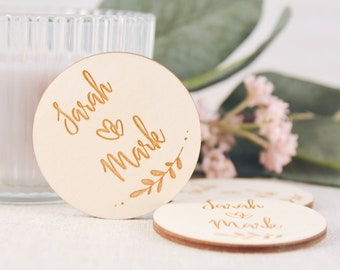 Thank You Photo Magnets  Party Favors  Wedding Favors   Envelopes Included  FREE Shipping on all Orders