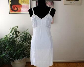 Romantic Vintage Patricia White Full Slip Vintage Slips Patricia White Slip White Full Slip 1960s Slip Wedding