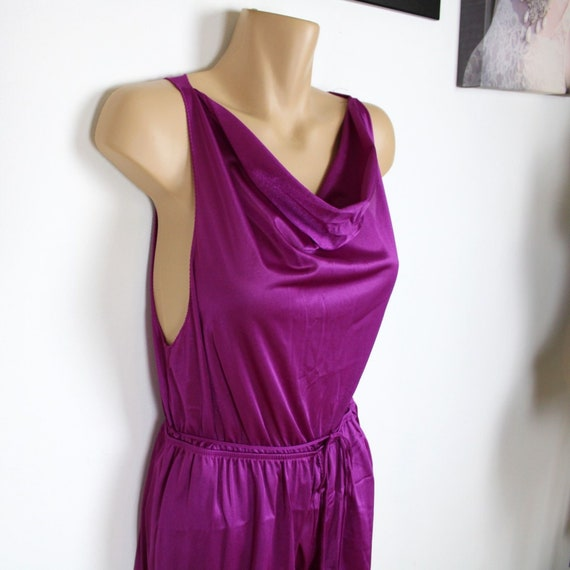 Undercover Wear Purple 1970s Jumpsuit, Vintage Lou