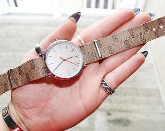 16ac710cc Authentic Repurposed Gucci Watch