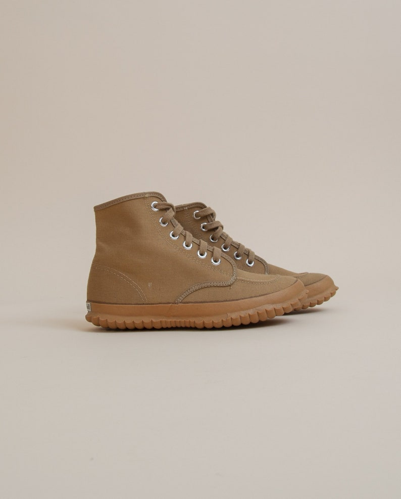 1950/'s Size 5M7W Canvas Hiking Boots by L.L Bean