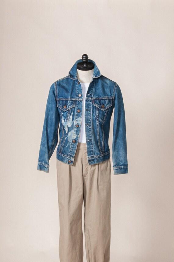1960's Small Levi's Big E Denim Jacket