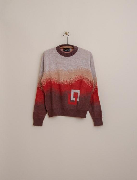 1960's Medium Orlon Crewneck Sweater by McBriar S… - image 2