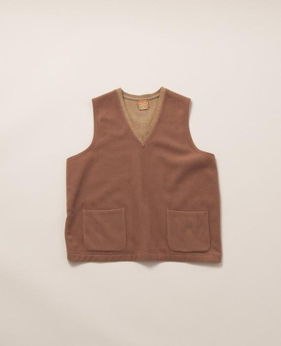 1940's Medium Two Pocket Wool Vest by McGregor