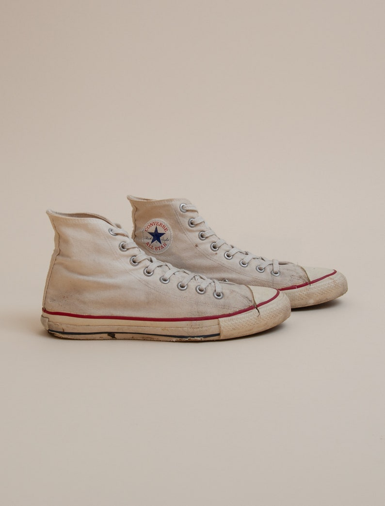 9a9dcf15ba3fe 1970's Size 8.5M/10W High Top Chuck Taylor by Converse