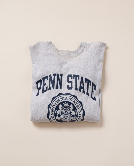 1980's M/L Penn State Reverse Weave by Champion