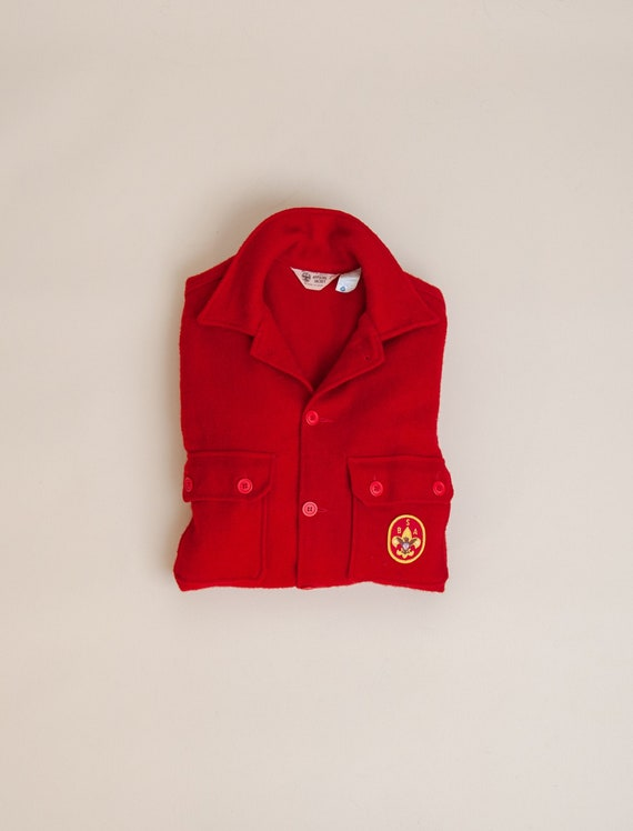 1960's Medium B.S.A. Wool Shirt Jacket