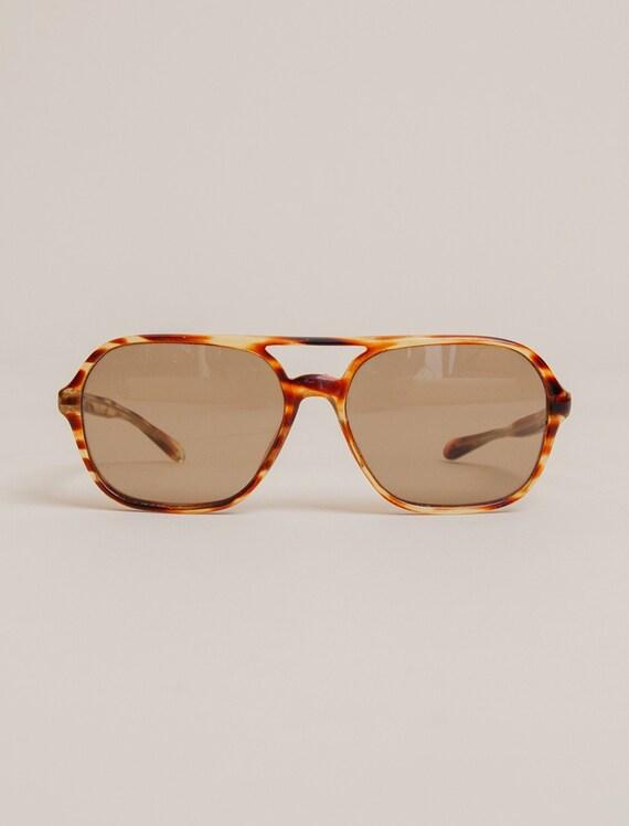 1970's Tortoise Avaitor Sunglasses