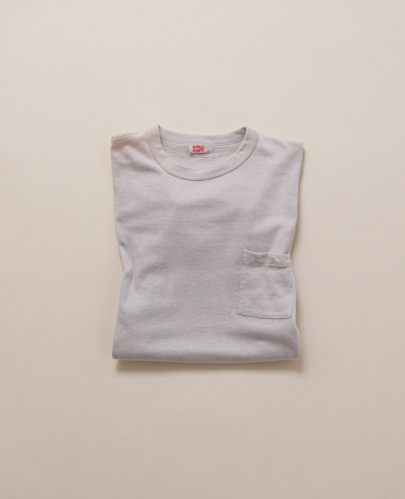 1950's Small Pocket T-Shirt by Hanes