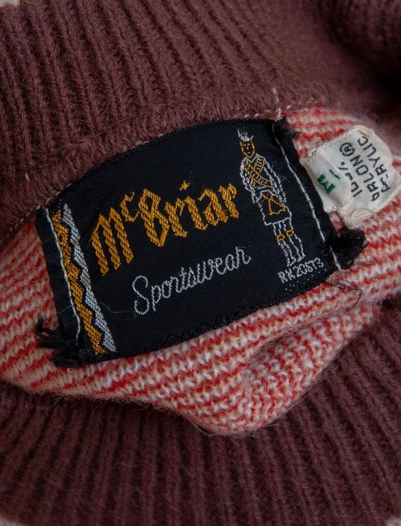 1960's Medium Orlon Crewneck Sweater by McBriar S… - image 4