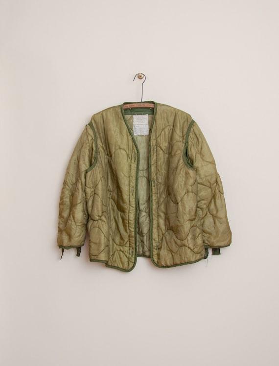 1970's Medium U.S. Army Liner Jacket