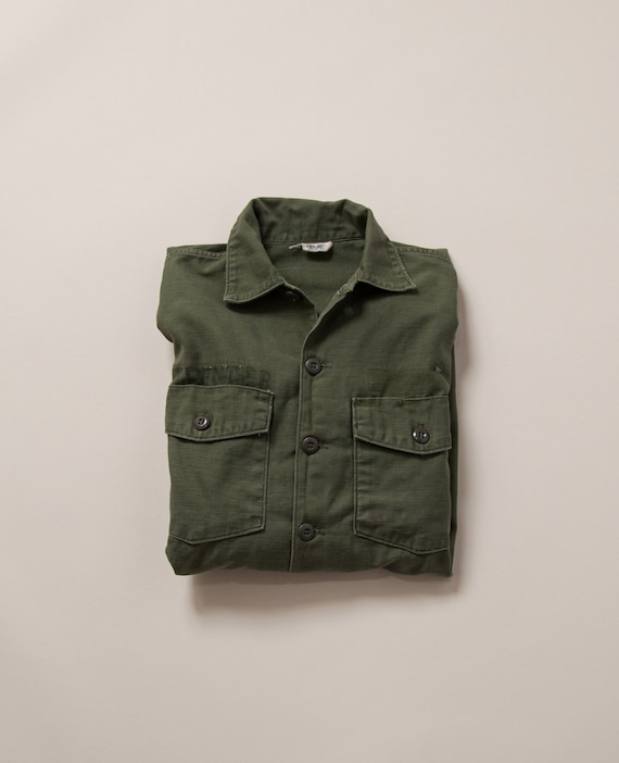 1960's S/M Vietnam Era OG-107 Cotton Sateen Jacket