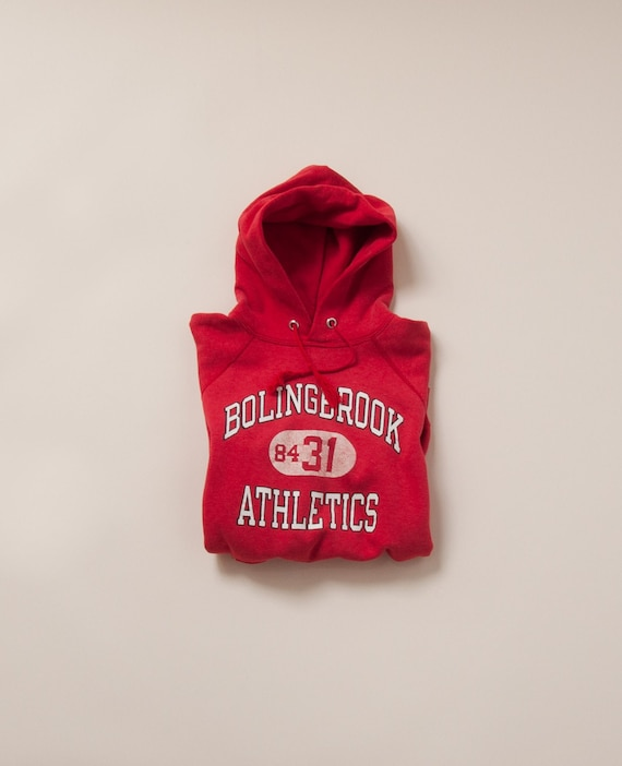 1980's Small Bolingbrook Athletics Hoodie by Champ