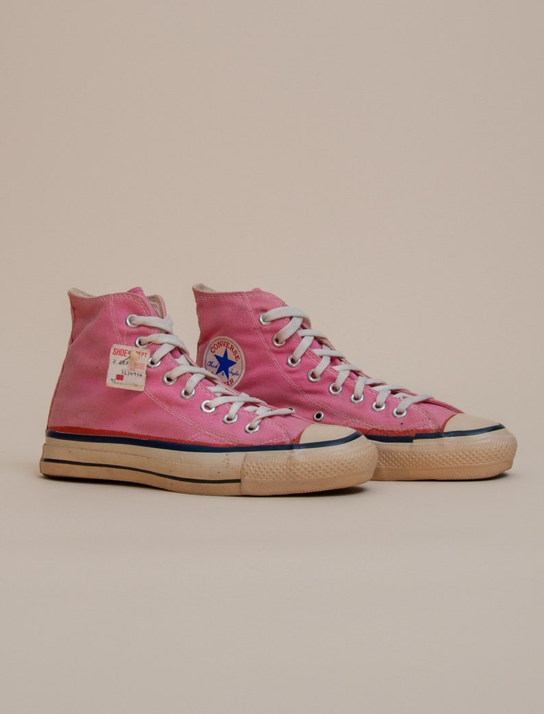 517554763395c 1970's Size 7.5M/9.5W High Top Chuck Taylor All Star by Converse